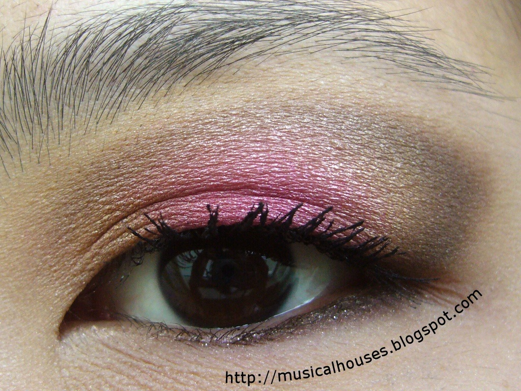 Nude Look Spring/summer Bright And Nude Eye Look! - Of Faces And Fingers