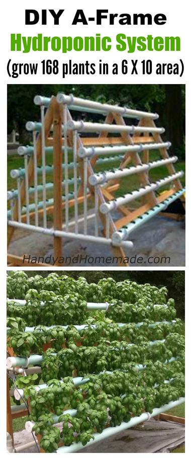 2 DIY Vertical Hydroponic Gardening Systems, How To Grow ...