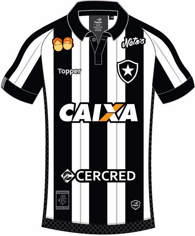 Botafogo fecha patrocínio pontual na camisa com empresa dos youtubers ef9613ab31342