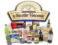 Logo Crea la Ricetta Vincente o vota e vinci gratis buoni da 50 e fino a 500 euro