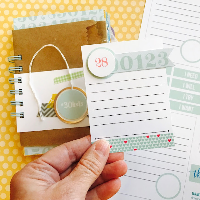 #journaling card #lists #list #free #printable #scrapbooking