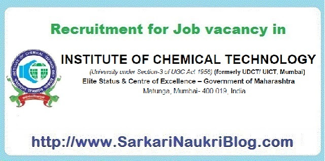 Naukri Vacancy Recruitment ICT Mumbai