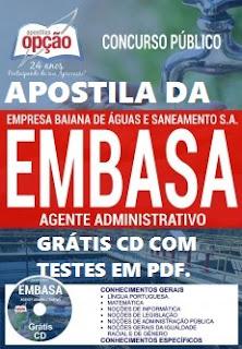 Apostila EMBASA Bahia 2019