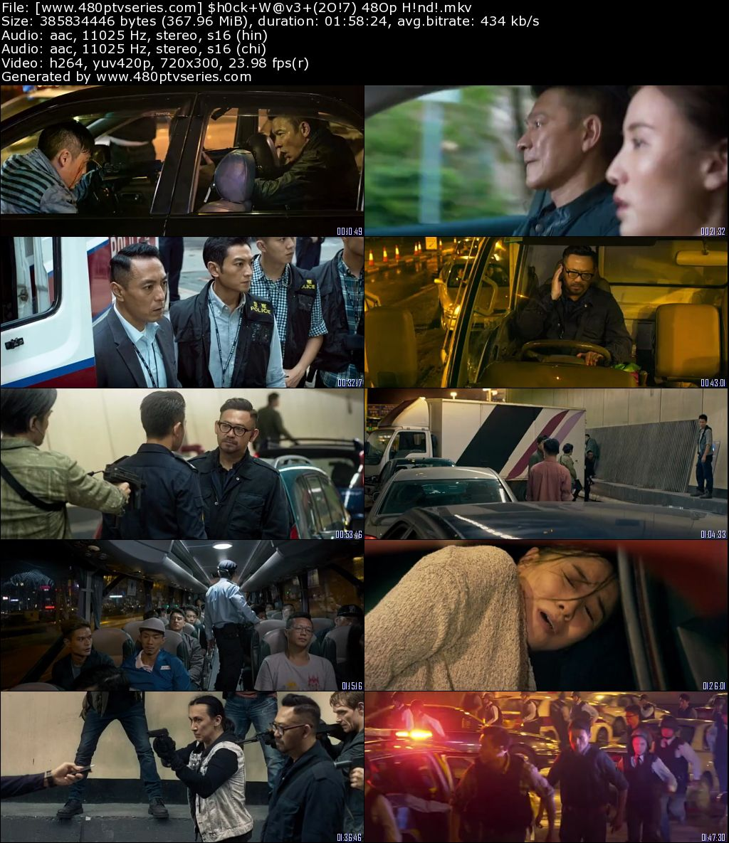 Shock Wave (2017) 350MB Full Hindi Dual Audio Movie Download 480p Bluray Free Watch Online Full Movie Download Worldfree 9xmovies
