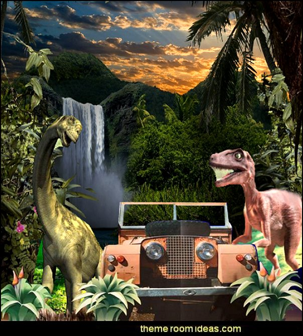 dinosaur jungle party progps