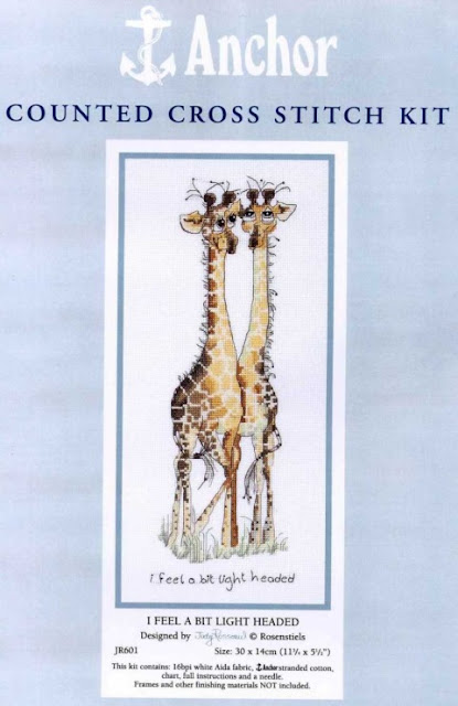 jirafas, jirafas para bordados