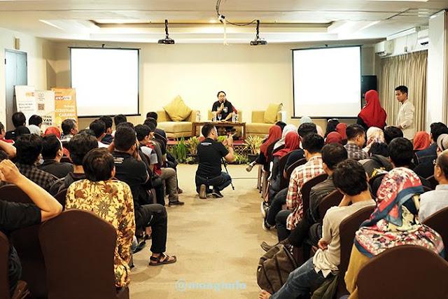 Blogger yang mengikuti kegiatan Accesstrade Caravan Yogyakarta