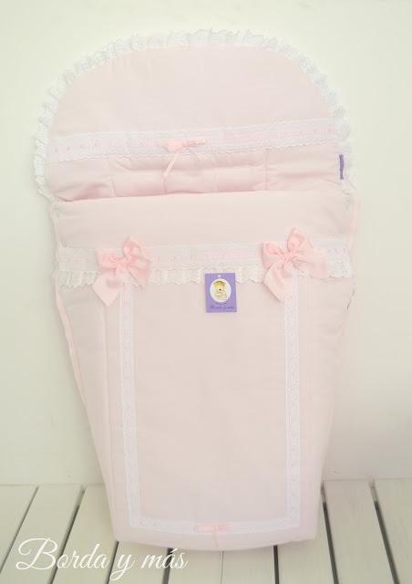 funda silla BEBECAR IPOP XL rosa blanco