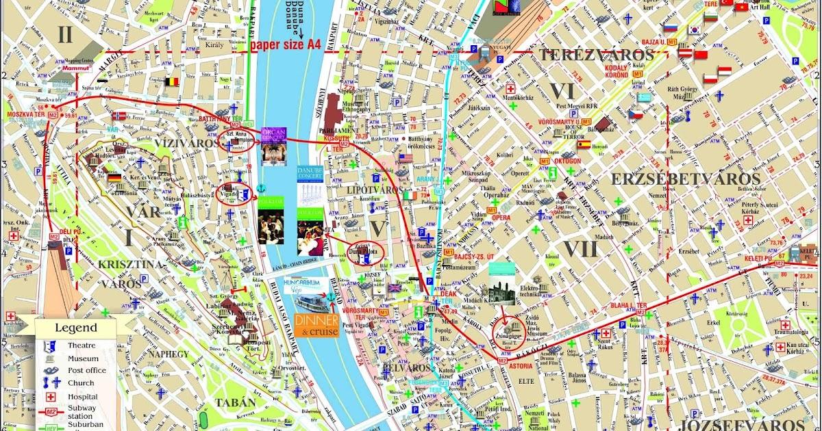 mapa budapeste centro Mapas de Budapeste   Hungria   MapasBlog mapa budapeste centro