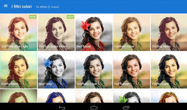 App per effetti foto su Android