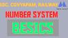Number system - संख्या पद्धति