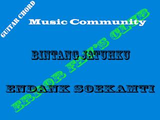 Chord Gitar Endank Soekamti | Bintang Jatuhku