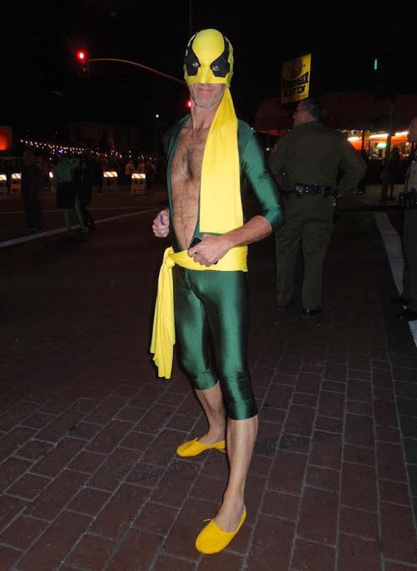 Iron Fist costume West Hollywood Halloween