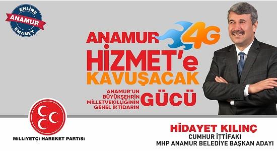 Anamur Haber, Anamur Son Dakika, Anamur MHP,