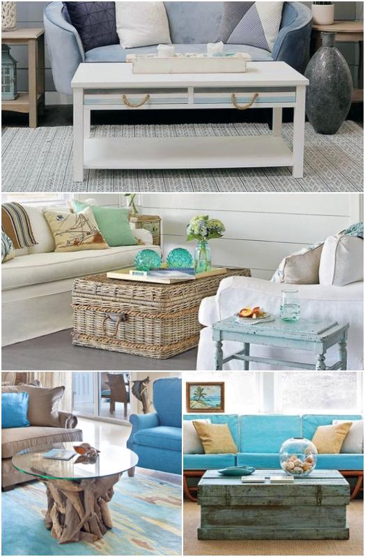 Coastal Coffee Table Decor Ideas Shop Styles