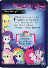 My Little Pony Flash Sentry Equestrian Friends Trading Card