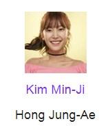 Kim Min-Ji pemeran Hong Jung-Ae