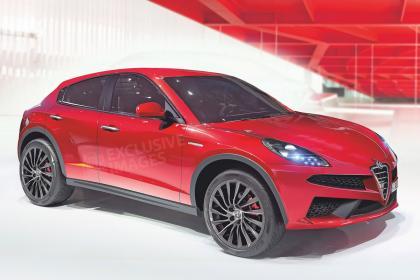 alfa%2Bsuv%2Brender Παντοδύναμο SUV με 510 ίππους ετοιμάζει η Alfa Romeo!