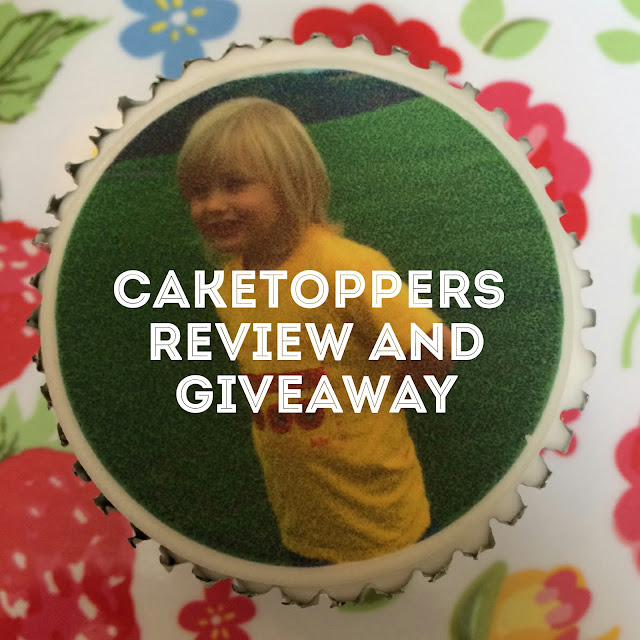 Caketoppers review and giveaway