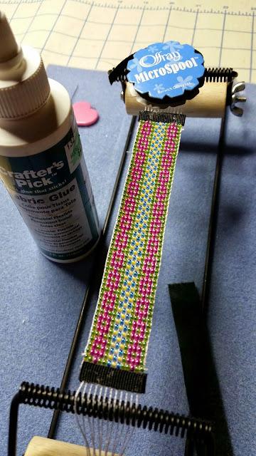 Easy Way To Finish A Loom Bracelet