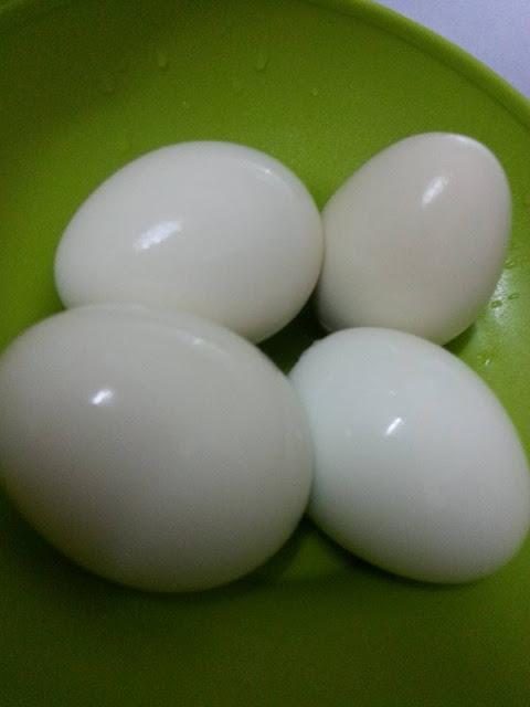 Petua Merebus Telur