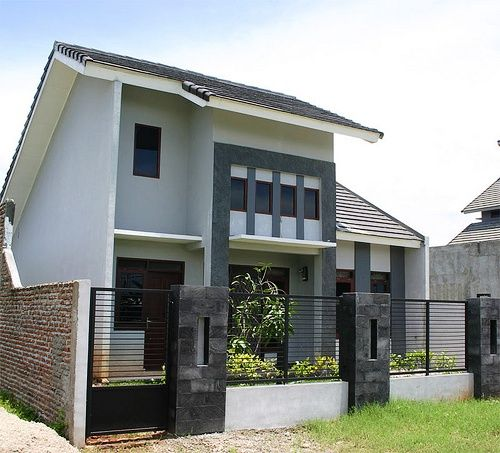 Desain Rumah Minimalis 2 Lantai Type 36 Modern