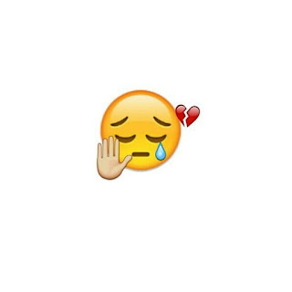 Someone Broken my Heart today is my Mood is full off and I am crying sad mood dp with emoji
