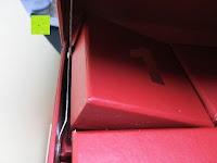 einlegen: Adventskalender als piratige rustikale Schatztruhe - 24 einzelnen Schatzboxen - Ideal für den Advent