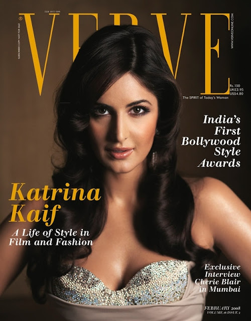 Katrina Kaif on Verve Magazine Cover