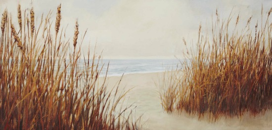 Beach with Sea Oats Canvas