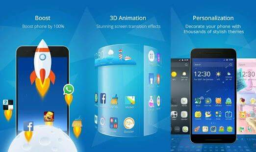 best Android 3d launcher application