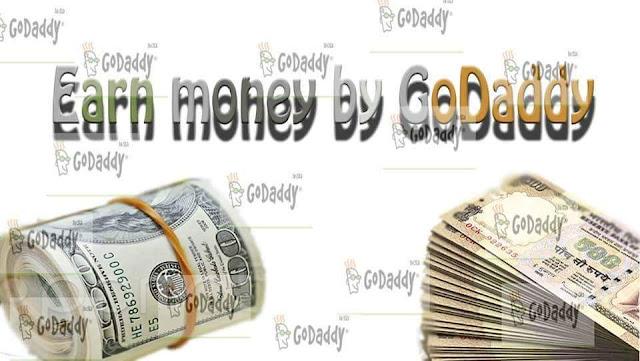 Earn money by GoDaddy