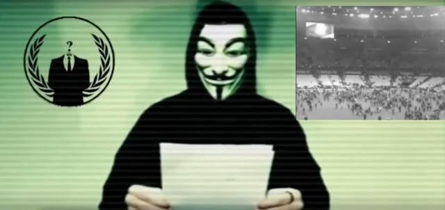 Informações sobre supostos terroristas são divulgadas pelo Anonymous