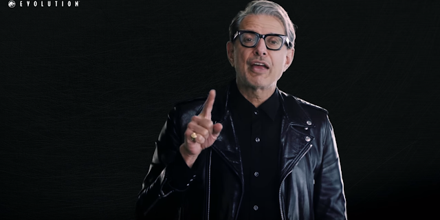 jeff goldblum, evolution