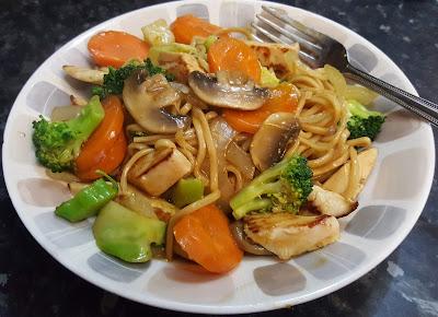healthy chicken chow mein recipe