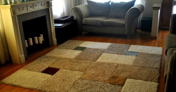 How To Easily Make Your Own Giant Area Rug Handy Diy