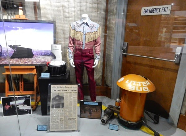 Back to the Future movie costumes props