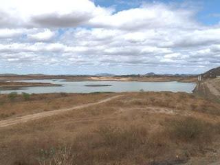 97 açudes da Paraíba têm menos de 20% de capacidade hídrica; apenas dois 'sangram'