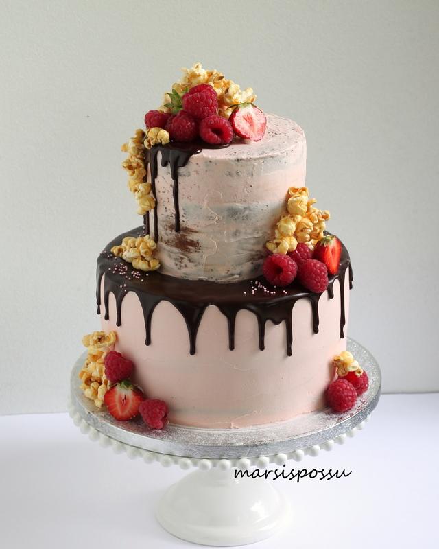 Naked cake marjoilla