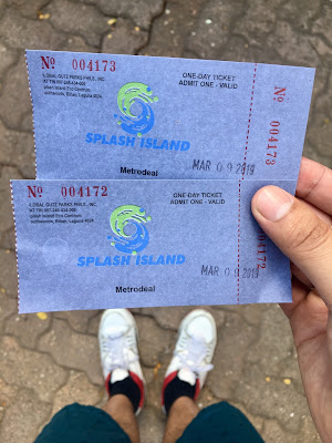 Splash Island - Biñan Laguna Tickets