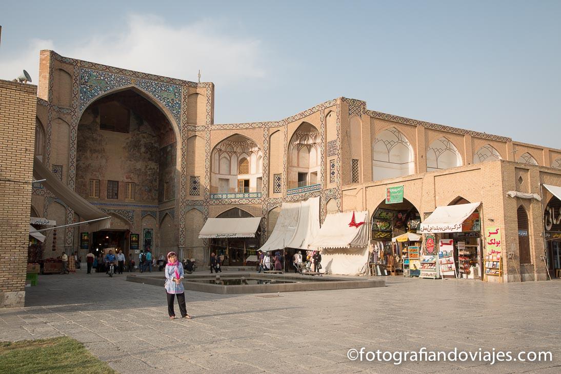puerta Qaisarieh o Keisaria