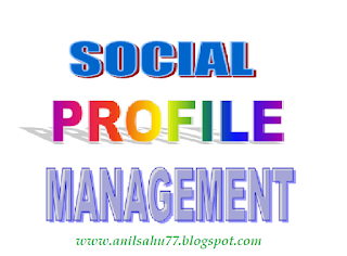 social profile management