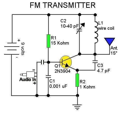 ckt of fm transmitter