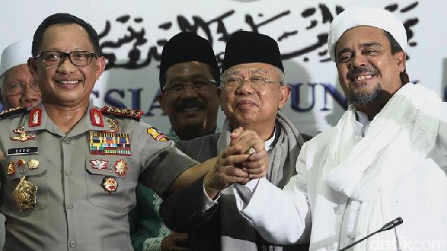 Status Tersangka Habib Rizieq Terkesan Dipaksakan! Akan Persulit Pemerintah Sendiri