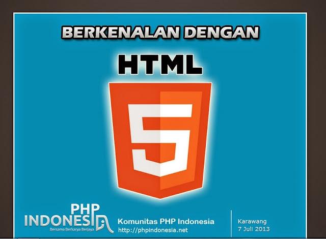 Presentasi dengan HTML5