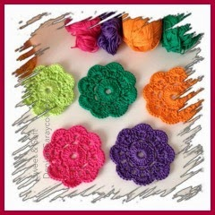 FLORES MAYBELLE A CROCHET