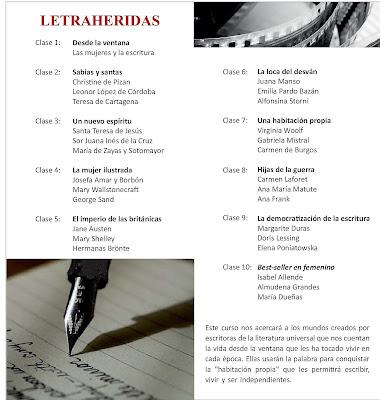 Resultado de imagen de Seminario de Historia de La Mujer en la Literatura. De la mano de la Dra. Ana Cabello