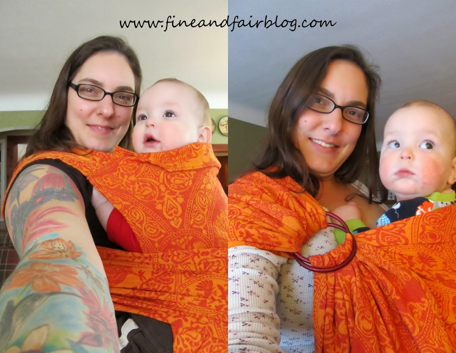 Fine And Fair How To Get A Mei Tai And A Ring Sling Out Of One