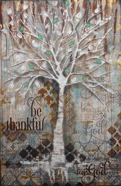 """ Be Thankful"" Strength, Purity, Righteousness and Flexibility"