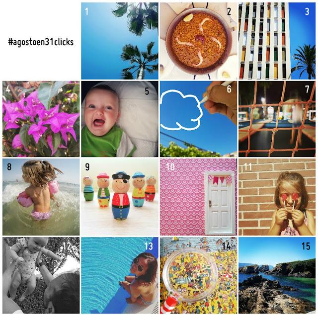 Reto Agosto en 31 Clicks